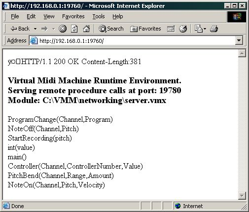 vmm in internet explorer